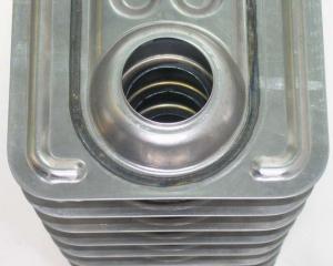 Корпус маслчного радиатора сваренный на установке АС316