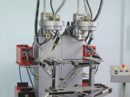 Установка АС316 для ТИГ-сварки одновременно двух кольцевых швов