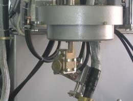 Механизм вращения горелки в установке АС316 для ТИГ-сварки одновременно двух кольцевых швов
