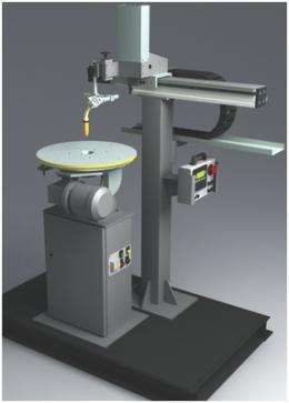 Установка АС372 для наплавки плоских, цилиндрических и конических поверхностей