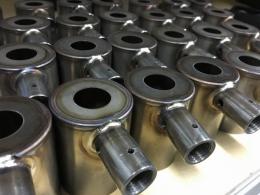 Изделия с кольцевыми и седловидными швами сваренные на установках АС399 и АС399-С4