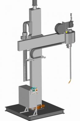 Установка АС408 для наплавки внутренних и наружных цилиндрических поверхностей способом МИГ/МАГ-сварки