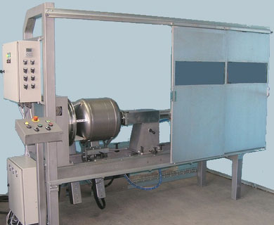 A machine AS305-2 for MIG/MAG welding of two circular seams